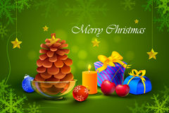 Gift and presents for Merry Christmas and New Year Stock Photos