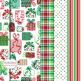 Seamless Background Patterns - Gift Prints Stock Images