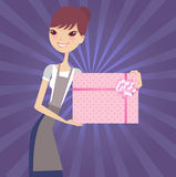 Gift product Royalty Free Stock Photos