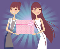 Gift product Stock Images