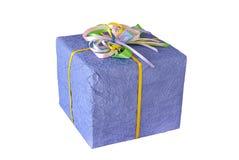Gift purple box Stock Photo