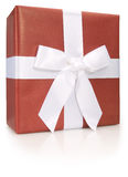 Gift In Red Stock Image