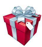 Gift red box Stock Photo