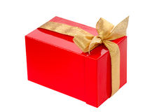 Gift red box Stock Image