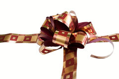 Gift with ribbon Royalty Free Stock Photo