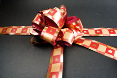 Gift with ribbon Stock Photography