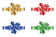 Gift ribbon. 2D computer illustration - color variations, gradient only Stock Image