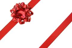 Gift ribbon Stock Image