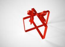 Gift ribbon abstract Royalty Free Stock Photo