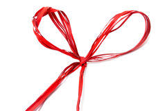Gift ribbon bow Stock Photo