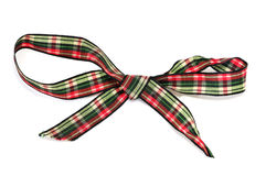 Gift ribbon bow Royalty Free Stock Photos