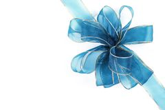 Gift ribbon and bow Royalty Free Stock Image
