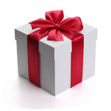 Gift with ribbon and bow. Stock Photo