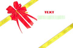 Gift, ribbon, bow Royalty Free Stock Photography
