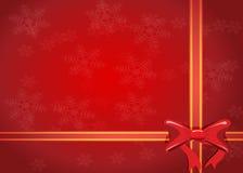 Gift ribbon bow Stock Photos