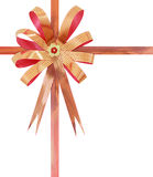 Gift ribbon and bow Isolated Royalty Free Stock Photos