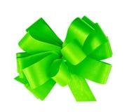 Gift ribbon bow isolated Royalty Free Stock Photos