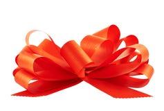 Gift ribbon bow isolated Royalty Free Stock Image