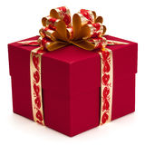 Gift with ribbon and bow. Stock Photography