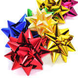 Gift ribbon bows Stock Images