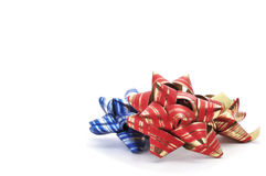 Gift ribbon bows Stock Photography