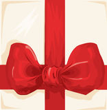 Gift ribbon illustration Stock Image