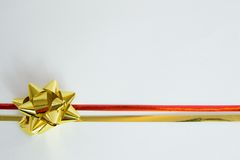 Gift ribbon Stock Photo