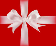 Gift with ribbons Royalty Free Stock Image