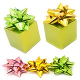 Gift and ribbons Royalty Free Stock Photography