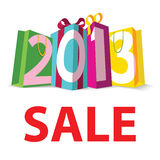Gift Sale 2013. For banner Stock Photos
