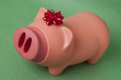 Gift of Savings Stock Photo