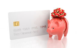 Gift Savings Bank Account Stock Images