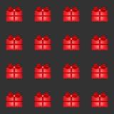 Gift seamless pattern Stock Image