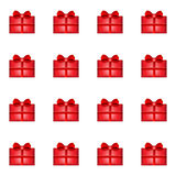 Gift seamless pattern Stock Photography