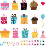 Gift set Royalty Free Stock Photos
