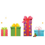 Gift set Royalty Free Stock Image