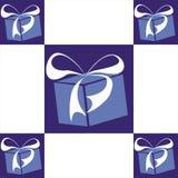 Gift set. Vector. Gift set color box royalty free illustration