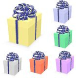 Gift set closed Stock Images