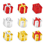 Gift set Stock Images