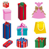Gift set separately Royalty Free Stock Image