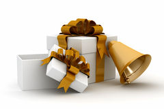 Gift set on a white background. Stock Images