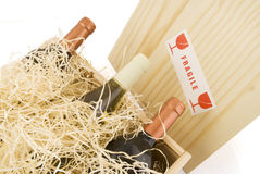 Gift set wine Stock Photography