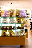 Gift Shop. With Toy Teddy Bears Royalty Free Stock Photos