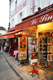 Gift shop in the heart of Paris Stock Photos