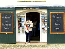 Gift shop, St.Michael's Mount, Royalty Free Stock Images