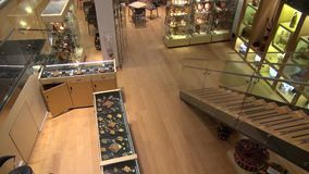 Gift Shop, Trinkets, Store, Tourism stock video