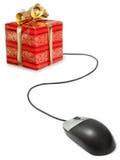 Gift shopping Royalty Free Stock Image