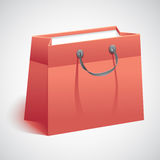 Gift shopping bag Stock Image