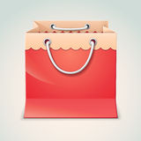 Gift shopping bag Royalty Free Stock Photos