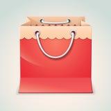 Gift shopping bag Royalty Free Stock Photos